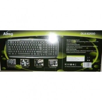 TECLADO USB AITEG DLK-6200