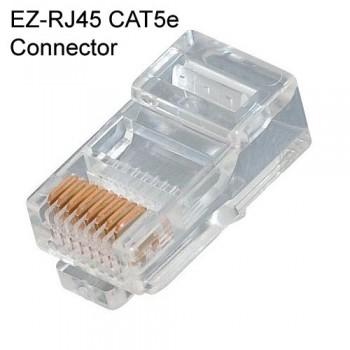 CONECTOR RJ-45, 8 HILOS CAT 5E