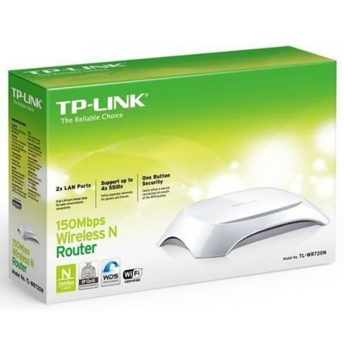 ROUTER INALAMBRICO TPLINK TL-WR720N 150MBPS